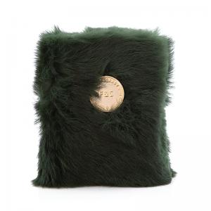 Caderno de pelo verde