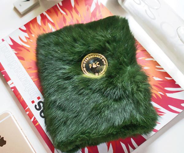 A6 Fur Notebook