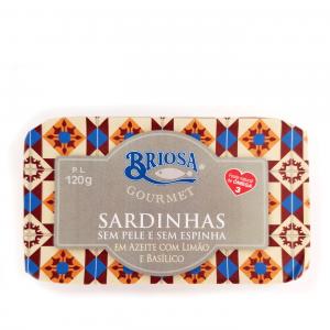 Sardines in olive oil, 120g
