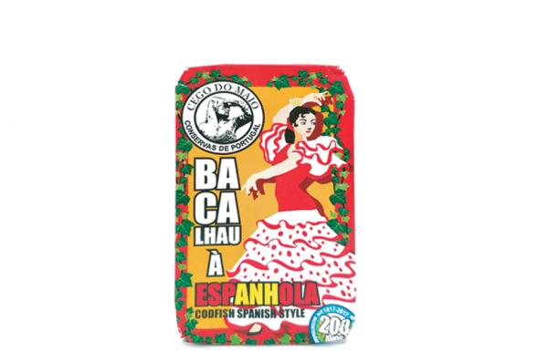 Bacalhau à espanhola - Codfish with Spanish sauce