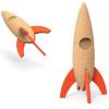 Elou rocket brinquedo de cortiça