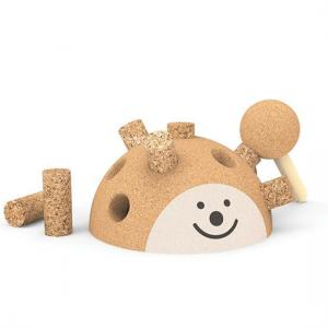 Hedgehog brinquedo em cortiça Elou