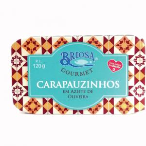 Horse mackerel in olive oil, 120g - Briosa