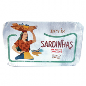 Sardinhas em azeite com alho
