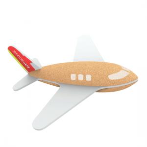 Tap jet plane brinquedo em cortiça Elou