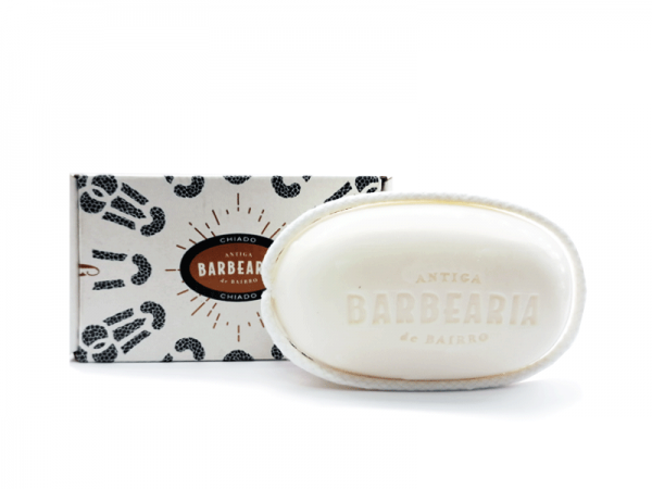 Bath soap with rope