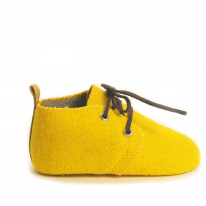 Mookie – Burel Baby Shoes yellow