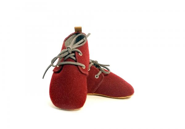 Mookie – Sapatos Bebe Burel bordeaux