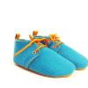 Mookie – Sapatos Bebe Burel turquesa