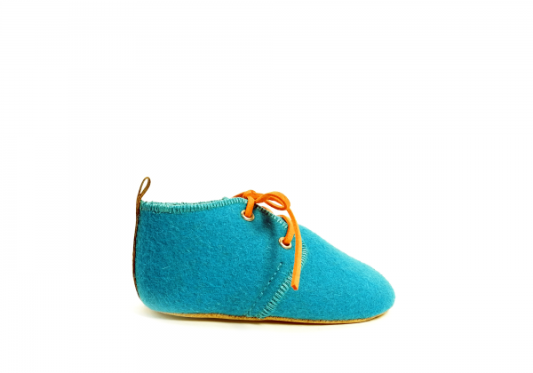 Mookie – Sapatos Bebé Burel turquesa