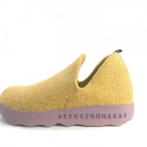 Shoes As Portuguesas Yellow