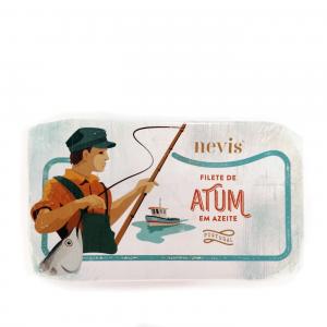 Filete de atum em Azeite, 120g.